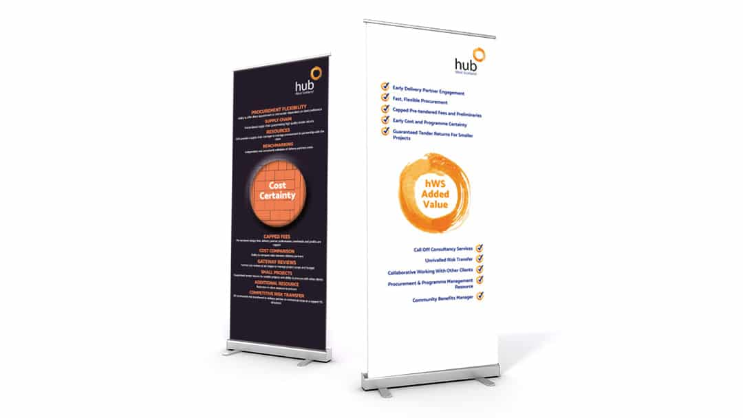 hubw roller banners