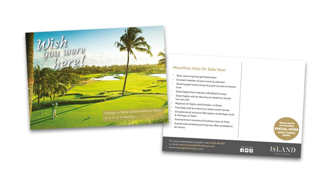 islandgolfPostcards