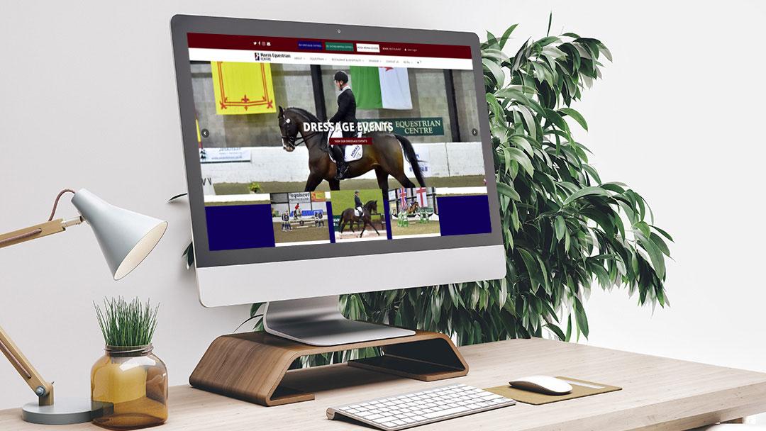 Morris Equestrian Web Design